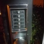 Old Intercom Lock