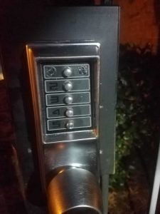 Old Intercom Lock