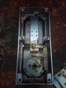 inside view of a lock